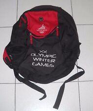 Zaino TORINO 2006 Olimpiadi Olympic winter games Turin Sac ASICS Ufficiale