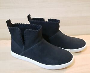 Koolaburra UGG Womens Size: 6 Rylee Suede Ankle Boot Sneakers Shoes Black