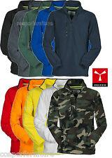 Pile uomo mezza zip felpa maglia taglie forti anche 4xl e 5xl Payper Dolomiti+