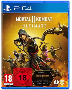 Mortal Kombat 11 Ultimate - PS4 Playstation 4 - NEU OVP - UNCUT