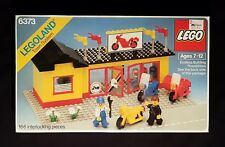 Lego 6373 - Motorcycle Shop - 1984 Legoland Classic Town - 80s 80er Vintage MISB