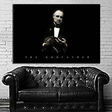 Poster Mural Movie Godfather Mob Mafia 40x58 inch (100x147 cm) Adhesive Vinyl