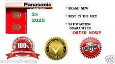2 x PANASONIC CR2025 2025 COIN CELL LITHIUM BATTERIES -BEST IN THE UK! Buy now!