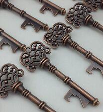100 Antique Skeleton Key Bottle Openers Steampunk VTG Wedding Favor Party Gift