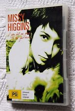 Missy Higgins - If You Tell Me Yours, I'll Tell You Mine (DVD) R-ALL, LIKE NEW