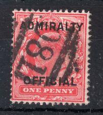 GB = POSTMARK - E7 era, `O81 / CASTLETOWN` Duplex. Admiralty Official. VERY RARE