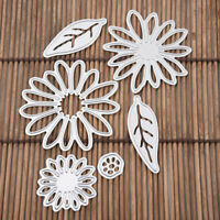 Blume Cutting Dies Stencil Scrapbook Album Paper Card Crafts Embossing DIY T5A3