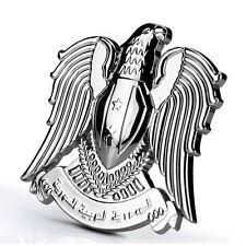Eagle Emblem 3D Moto Decal Metal Badge Motorcycle Sticker Harley Vintage Street