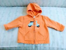084b05177e5 Gymboree Toddler Boys Size 12-18 Hoodie jacket Scooter Adorable