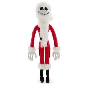 Disney The Nightmare Before Christmas Jack Skellington Soft Plush Sandy Claws