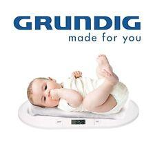 Grundig BW219 Digitale Babywaage Kinderwaage, Säugling Still Waage 20kg/10g