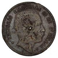 ITALIA GERMANIA Gettone medaglia con Vittorio Emanuele III e Guglielmo II
