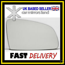 Right Wing Car Mirror Glass Replacement CONVEX MERIVA A 2003-2010 Stick ON
