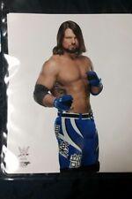 RARE WWE AJ Styles  8x10 PHOTO studio WWE official promo superstar