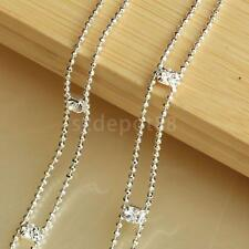 Pair Women's Clear Crystal & Bead Bra Straps Two Rows Adjustable Dress Decor