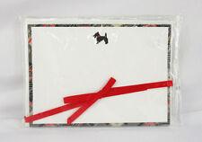 VERA BRADLEY BLACK AND WHITE CORRESPONDENCE CARDS   Msrp $8.00