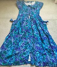 Rare Vintage Monsoon Fully Lined Floral Dress
