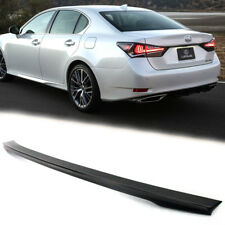 Unpaint For Lexus GS 4th L10 GS200t GS350 GS F Sport OE Style Rear Trunk Spoiler