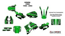 CR 80 graphics kit 1996 1997 1998 1999 2000 2001 2002 CR80 deco kit NO2001 GREEN