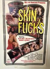 SKIN FLICKS Vintage Sexploitation X-Rated Adult Film Porno XXX Movie Poster 1978