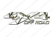 4x4 OFF ROAD Camouflage WINTER Camo Hunting TRUCK Decal Sticker CHEVY DODGE FORD