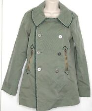 DIESEL WOMENS MILITARY ARMY GREEN JACKET XS