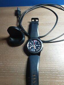 Samsung Gear S3 Frontier 46mm Stainless Steel Case Black Smart Watch (CU209)