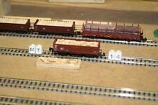 1 x Ladegut Spaltholz für 2 achs. Hochbordwagen Minitrix (14)