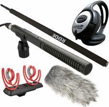 Rode NTG-2 + Deadcat + SM3-R + Micro Boompole + Keepdrum Kopfhörer