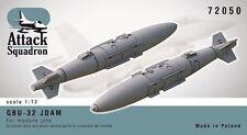 Attack Squadron 1/72 GBU-32 JDAM 1000 LB (environ 453.59 kg) # 72050