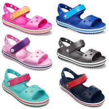 Crocs Crocband Sandals Kids Children Boys Girls Summer Holiday Beach Strap Shoes