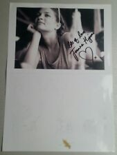 Autograph - Joanne Higson - Actress Shameless - live ink on photo
