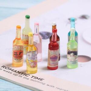 Resin Soda Bottle Flatback Cabochon Miniature Bottles Scrapbooking Diy Craft 10X