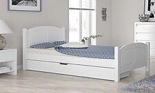 Doppelbett Bettgestell 120x200 weiß bettkasten schublade weiss jugendbett senior