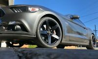 "4X NEW GENUINE SIMMONS FRC 20"" FORD MUSTANG  20x10""  WHEELS & NEW TYRES"