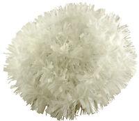 2 Metre White Chunky/Fine Christmas Tinsel (T31)