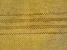 "Antique Vtg Linen Hemp Grain Sack Fabric Cloth 20x40"" Stitched Bag Taupe Tan A57"