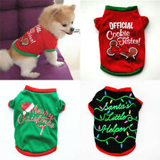 Christmas Puppy Cat Dog Clothes Apparel Pet Soft Sweater Jumper Hoodie Warm Coat