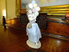 Lladro Figurine Ornament Balloon seller lady Retired