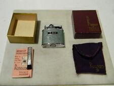 RONSON Unfired Standard Lighter With / Original Bag / Box & Brush/ Instructions