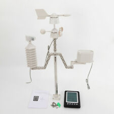 Wifi Wireless Professional Weather Station12/24 Hour Format Receiving 100M