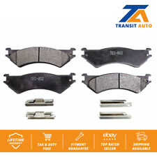 Rear TEC Ceramic Brake Pads Fits Ford E-150 E-250 Econoline E-350 Club Wagon