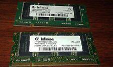 Infineon PC-2700 256 MB DIMM 333 MHz DDR SDRAM Memory