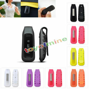 Replacement Colors Silicone Rubber Clip Case Belt Holder for Fitbit One Tracker