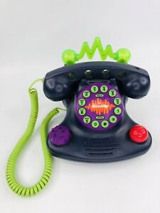 Nickelodeon Talk Blaster Land Line Telephone N2500 Lights & Sounds 1997