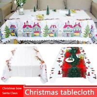 Christmas Party 1.5*1.8m Tablecover Table Runners Cover Polyester Tablecloth AU