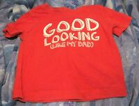 Great Boys T Shirt Short Sleeved Early days 18-24 months Good Looking