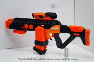 3D Printed Solid Thumbhole Stock for Nerf AF Nexus Pro Dart Blaster