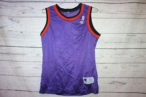 Vintage Phoenix Suns 1990s Blank Champion Jersey Size 40 Barkley Majerle