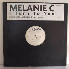 """Melanie C – I Turn To You (2xVinyl, 12"""", Maxi 45 Tours, Promo)"""